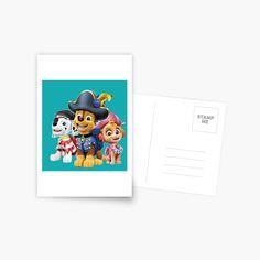 'Paw Patrol fun' Greeting Card by StefaniaAlina Paw Patrol, Greeting Cards, My Arts, Stamp, Art Prints, Printed, Awesome, Artist, Skirts