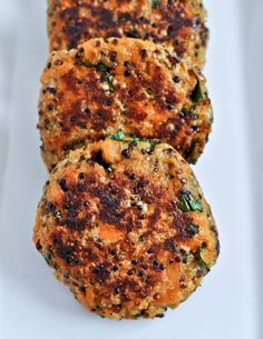 sweet potato and quinoa...Super food combo - I want to make these ASAP!