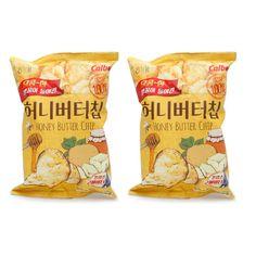 Korean Snack HAITAI HONEY BUTTER CHIP 120g x 2Pack Popular Potato Chip #HAITAI