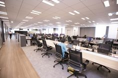 Modern Office Design, Office Interiors, Workplace, Collaboration, Desk, Interior Design, Building, Unique, Furniture