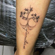 Tatuagem de árvore da vida: 80 ideias para todos os estilos