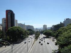 AVENIDA 23 DE MAIO, SAO PAULO, BRASIL