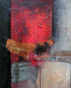Gerard Brok - abstract paintings in mixed media