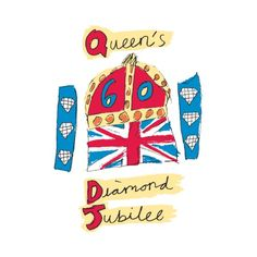 Watch and celebrate the Queen's Diamond Jubilee with friends and family by hosting a  viewing party, street party, or British / Union Jack theme party in  honor of Queen Elizabeth II's 60 years on the throne