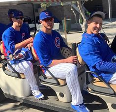 Bryant and Rizzo Cubs Players, Baseball Players, Baseball Boyfriend, Cubs Win, Bear Cubs, Bears, Go Cubs Go, Chicago Cubs Baseball, Baseball Pictures