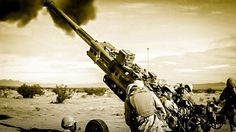 That's a BIG gun! Watch Marines fire an M777 Howitzer. http://warrior.scout.com/story/1490239-watch-marines-fire-an-m777-howitzer?s=155