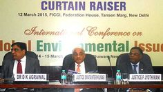 At a time once there has been a growing concern of sinister level of pollution within the metropolis and water contamination. involved over the quick deteriorating scenario, Ministry of atmosphere, Forest and temperature change, National inexperienced court (NGT), Ficci and Indian Law Institute have together unionised 'International Conference on international Environmental Issues' from March fourteen to fifteen, 2015 in national capital at Vigyan Bhawan to debate the difficulty.
