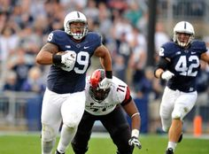 Former Penn State Nittany Lions suit up for National Football...: Former Penn State Nittany Lions suit up for National… #PennStatefootball