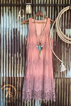The Rosette Dress - Savannah Sevens Western Chic | #Trenditions