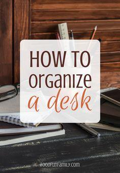 How to organize a de