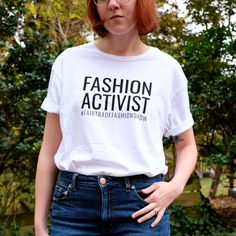 The Moral Wardrobe: Fashion Activist — Style Wise Fair Trade Fashion, Fashion Show, Fashion Design, Sustainable Fashion, Sustainable Style, Morals, T Shirts For Women, Boutique, Tees