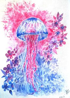 'Underwater butterfly'