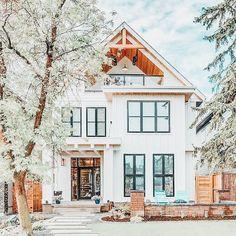 Dream Home Design, My Dream Home, House Design, Dream House Exterior, Dream House Plans, Dream Houses, Cute House, House Goals, Exterior Design