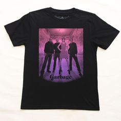 Garbage  http://hateashberry.com/band-shirts/garbage/
