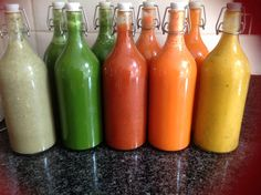 3 day detox pressed Juice and Soups#fuelfit#suefit#Angel