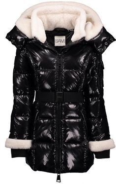 GIRLS SHEARLING SOHO | SAM. Puffer Jackets, Winter Jackets, Winter Is Comming, Down Coat, Online Shopping Stores, Soho, Diane Von Furstenberg, Kids Outfits, Andrew Marc