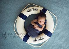 Welcome Aboard! Newborn photography