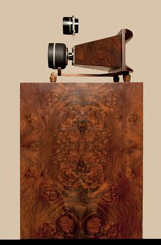 Burwell And Sons Mother Of Burl horn Loudspeakers