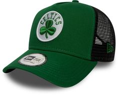 Boston Celtics New Era Team Essential Trucker Cap 5647eaf8311
