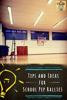Find tips and tricks for school pep rallies right here! Creating school spirit is vital to school culture! High School Cheer, School Cheerleading, School Fun, Middle School, School Days, School Stuff, Student Council Activities, High School Activities, Pep Rally Games