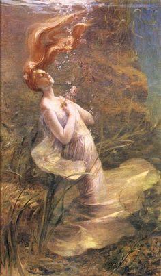 Ophelia by Paul Albert Steck, 1895