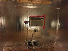 CoolBot in DIY wine cellar