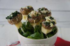 BROCHETA DE CHAMPIÑONES RELLENOS   Cocinar en casa es facilisimo.com