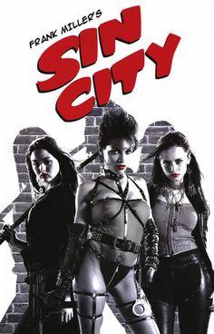 Sin City Movie Poster x Sin City Movie, Sin City 2, Tv Movie, Comic Movies, Movie Characters, Marvel Dc, Chris Warner, Frank Miller Sin City, Movie Posters