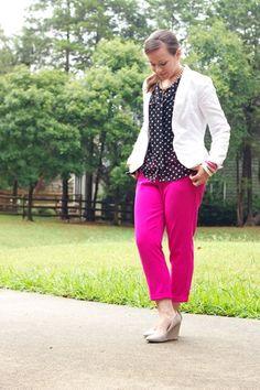 Pink and Polka Dots    PinQue Blog