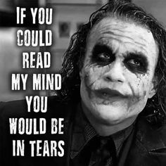 Did Heath Ledger Die Because Of The Joker Role? Joker Qoutes, Best Joker Quotes, Badass Quotes, Best Quotes, Batman Quotes, Citations Jokers, Citations Film, Reality Quotes, Mood Quotes
