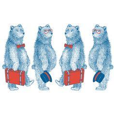 Orie's art【Outgoing bear 】#bearillust #design #動物イラスト #くまイラスト #bear #イラスト #デザイン #イラスト #細密画 #絵 #おしゃれイラスト #北欧イラスト Mini, Illustration, Fictional Characters, Ideas, Illustrations, Fantasy Characters