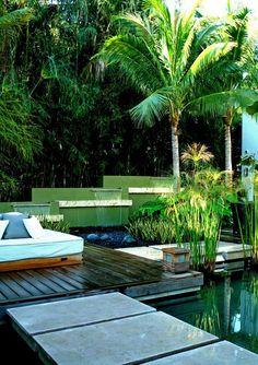 Piękne Pomysły Style Water Garden Bali