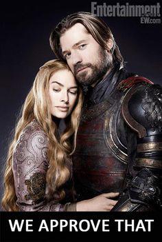 Cercei & Jaime #inceste
