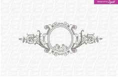 Luxury, Vintage Wedding Logo by Linvit on @Graphicsauthor