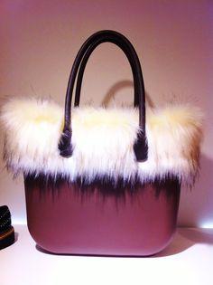 Borsa OBag fur edition  #doricocalzature #bag #obag #fur www.doricocalzature.it