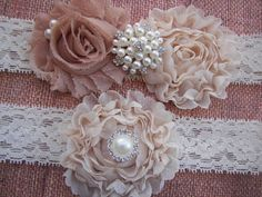Lace Wedding Garter , Bridal Garter , Toss Garter included OMG this is it!
