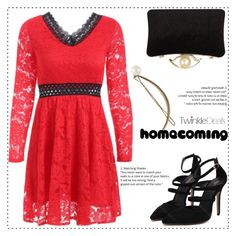 Homecoming Style by duma-duma on Polyvore featuring Homecoming