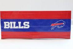 Duct Tape Wallet (Bi-Fold) - Buffalo Bills, $15.  We are also on Etsy at:  www.junorduck.etsy.com.