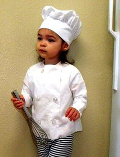 Lil Chef Dress Up Costume by Allmyheart101 on Etsy, $40.00