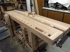 Another Roubo Workbench - by RogerBean @ LumberJocks.com ~ woodworking community