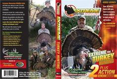 Extreme Dimensions Extreme Turkey Hunting Adventures Video DVD: Over 20 wild turkey hunts… #TrapperSupplies #TrapperBooks #TrapperVideos