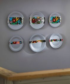 old plates, new deco