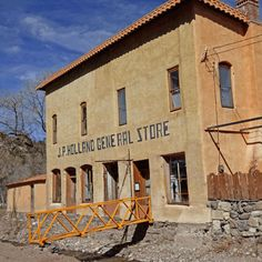 Mogollon | Rowdy mining town tucked into the Gila Mountains generated the silver that earned Silver City its name.
