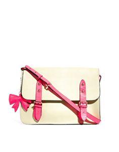 Image 1 of Paul s Boutique Scarlet Leather Satchel Paul s Boutique e34be636d06d2