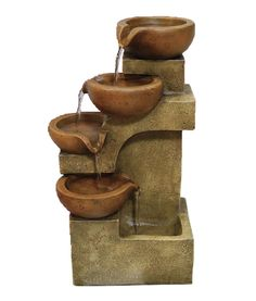 Pouring Bowls Fountain