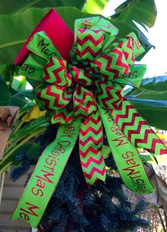Christmas Tree Top Hat Topper by TazCreations on Etsy, $55.00