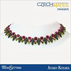 CzechMates Dagger necklace by Starman TrendSetter Ayako Kosaka