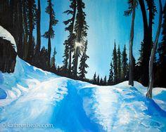 Snowy Alpine Trail L