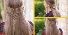 TRENZA COLA DE SIRENA Hair Styles, Beauty, Hair, Mermaid Monofin, Hairstyles, Hair Makeup, Hairdos, Cosmetology, Hair Cuts