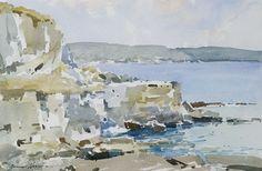 Edward Wesson Dorset Coast at Worth Matravers